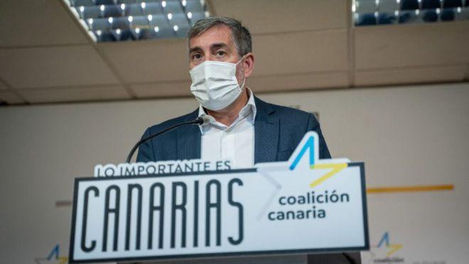 CC reivindica que la agenda de Torres y Sánchez incluya carreteras, costas, migración, turismo y el REF