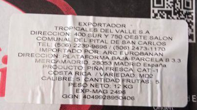 Los nacionalistas herreños denuncian la entrada de piña tropical ilegal en los mercados