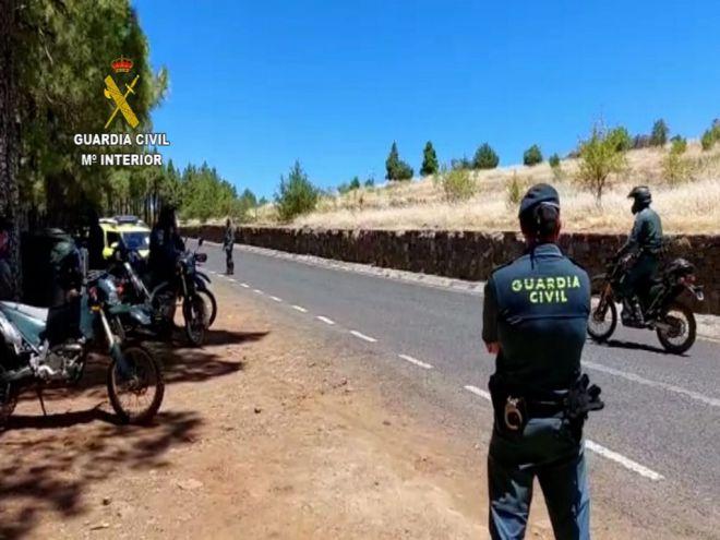 La Guardia Civil detecta 21 infracciones en el inicio de la temporada de caza en Gran Canaria