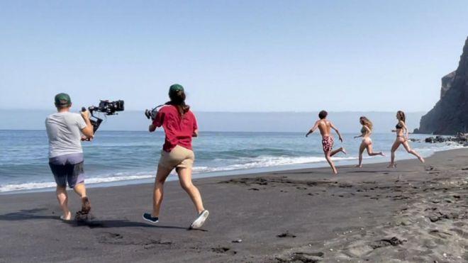 Turismo de Canarias renueva su material audiovisual con varios rodajes en diferentes puntos del Archipiélago