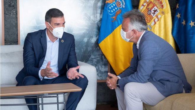 Torres y Sánchez se reúnen en Lanzarote para analizar distintas cuestiones de la agenda de Canarias con el Estado