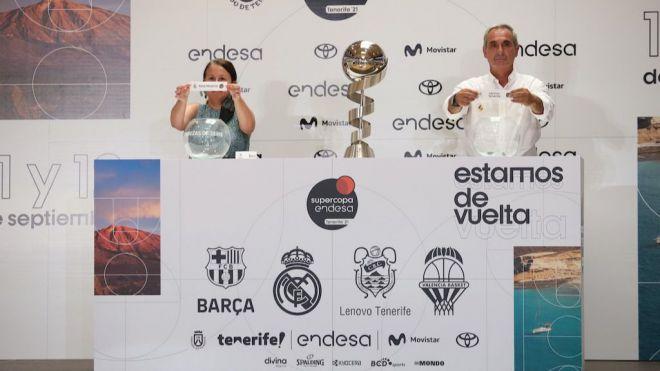 Barça-Valencia y Real Madrid-Lenovo Tenerife, semifinales de la Supercopa Endesa 2021 de baloncesto