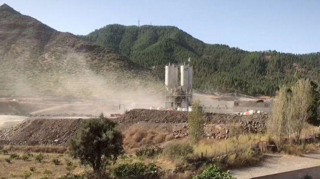 Los trabajos de extracción de los áridos del Anillo Insular no se han paralizado y siguen asfixiando al municipio