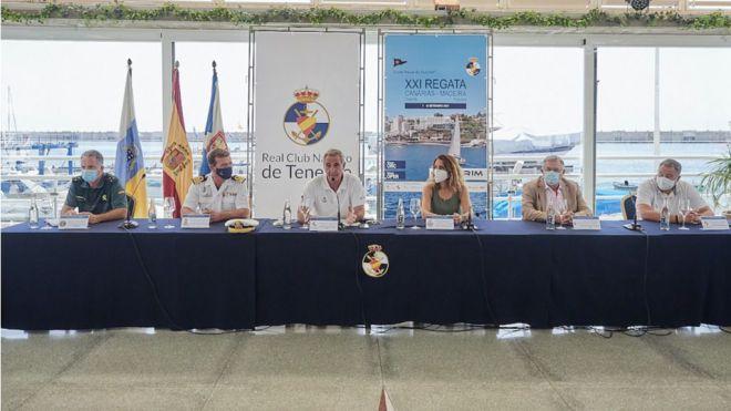 Presentada la XXI Regata Internacional Canarias - Madeira