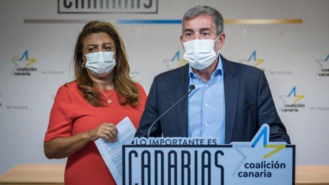 """Clavijo advierte a Sánchez que su silencio ante el drama migratorio es un """"insulto a Canarias"""""""