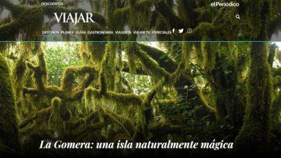 Turismo de La Gomera intensifica su presencia en el mercado nacional a través de la revista Viajar