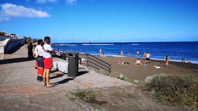 Salvamento y Socorrismo cierra los meses de julio y agosto con 286 asistencias y 70 rescates en el agua