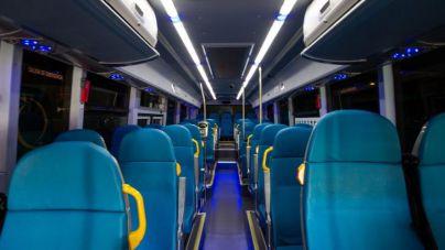 Se restablece la actividad de servicios nocturnos en el transporte público interurbano
