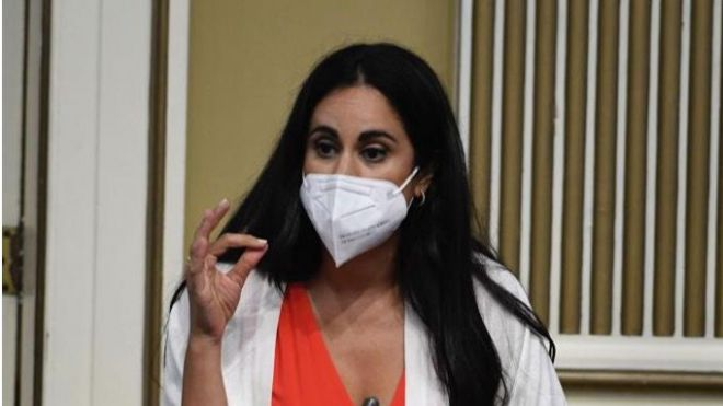 Vidina Espino advierte que nadie la va a silenciar ni callar a la hora de defender los derechos de los canarios