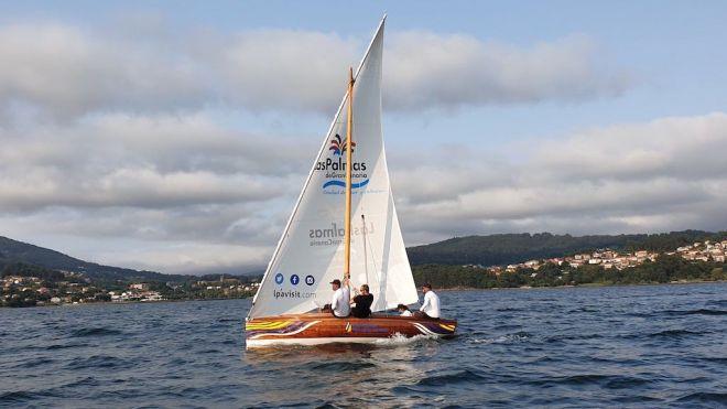El bote de Vela Latina 'Las Palmas de Gran Canaria' viaja hasta Mallorca
