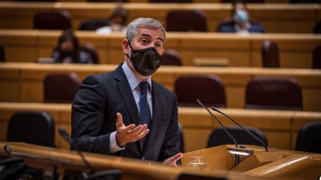"""Clavijo al PSOE: """"Defender el REF a medias es no respetarlo"""""""