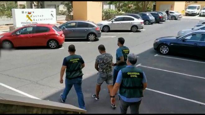 La Guardia Civil detiene en Santa Cruz de Tenerife a un individuo por terrorismo