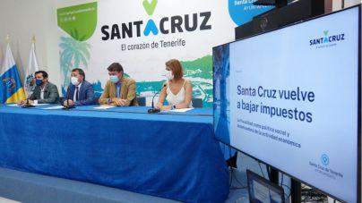 Familias y pequeñas empresas de Santa Cruz pagarán 2 millones de euros menos en 2022