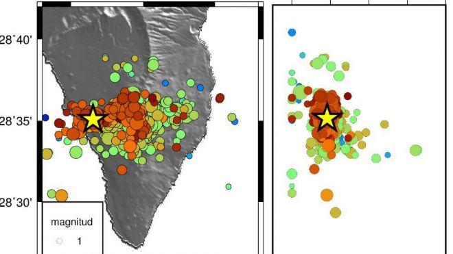 Activado el plan por riesgo volcánico en la zona de Cumbre Vieja