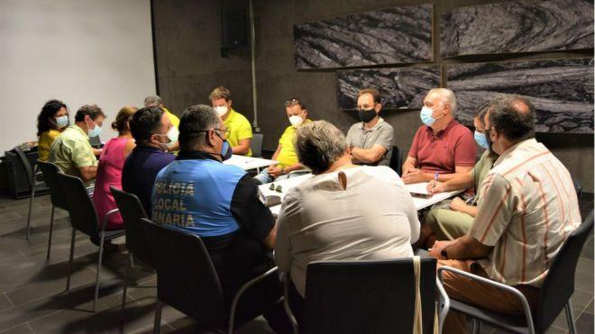 Definen las medidas de prevención ante la actividad sísmica en Cumbre Vieja
