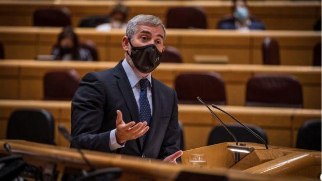 """Clavijo acusa al PSOE de """"silenciar"""" la Ponencia de Migración por oportunismo político"""