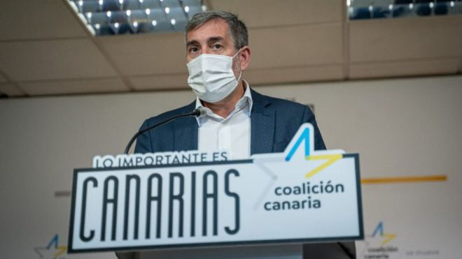 """Clavijo advierte al PSOE que sería """"inaceptable"""" una rebaja en los Erte"""