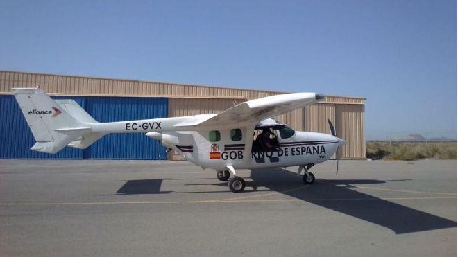 Se incorpora un avión de monitorización y seguimiento de la actividad sísmica