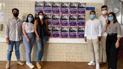 Liberta Estudiantil empapela la ULL con la cara de Catells y Manuela de Armas