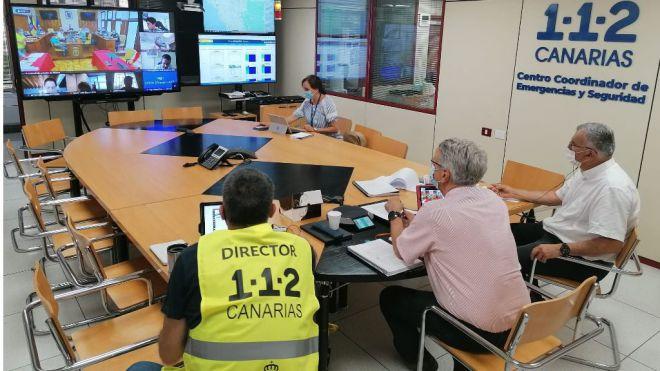 PEVOLCA comienza la evacuación preventiva de personas con movilidad reducida en núcleos de riesgo