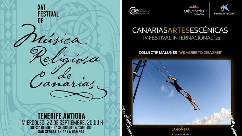 La Gomera acoge esta semana una agenda cultural con la música y las artes escénicas como protagonistas