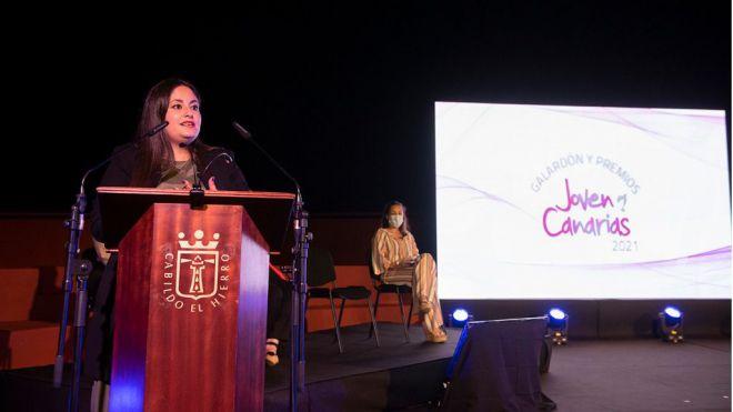 El Hierro acogió el acto de entrega del galardón y premios 'Joven Canarias' 2021