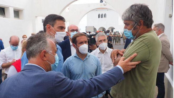 Torres apela a la responsabilidad y anuncia un decreto ley urgente para ayudar a los afectados