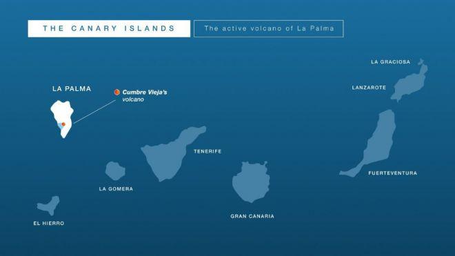 Los mercados emisores de turistas, informados en todo momento de la situación vulcanológica en La Palma