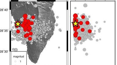 La Red Sísmica Canaria ha registrado a las 21:32 un terremoto de 3.8