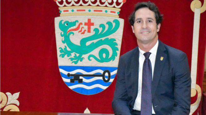 """El Partido Popular llama """"enemigo de la ciudad"""" al alcalde Marco González."""