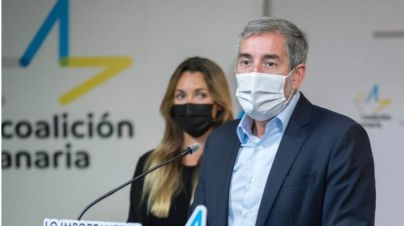 """Clavijo insta al PSOE a """"reflexionar"""" para que en esta semana cambie su voto y se una a salvar el plátano"""