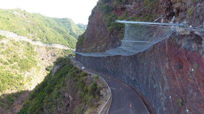 El Cabildo reabre la carretera de Gallegos tras concluir las obras de seguridad de la vía