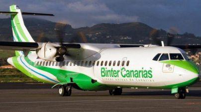La nube de ceniza obliga a parar temporalmente la operativa de Binter con La Palma