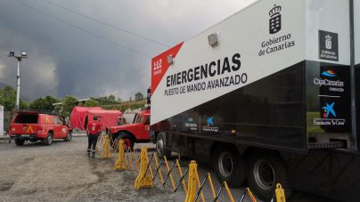 La colada sobrepasa Todoque, evacuado desde hace días, y se sitúa a 1.600 metros de la costa