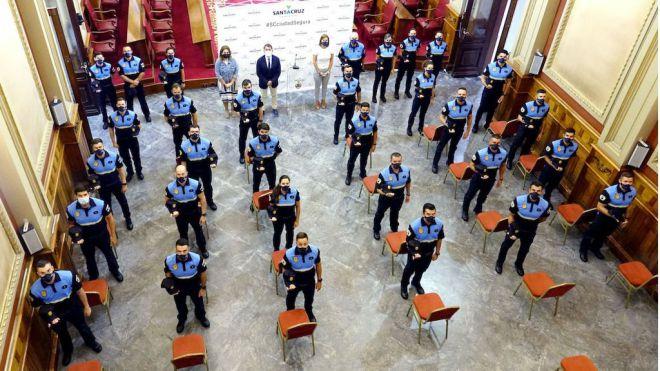 Los nuevos 30 agentes policiales en prácticas inician hoy su periodo formativo obligatorio