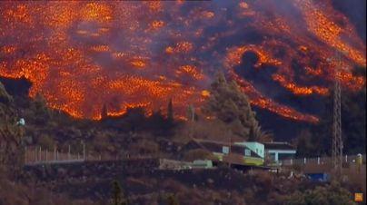 El volcán expulsa 46,3 millones de metros cúbicos de lava y va acercándose al mar