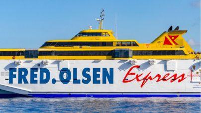 Fred. Olsen programa nuevas frecuencias adicionales entre La Palma y Tenerife hasta el 9 de octubre