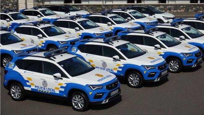 Santa Cruz presenta 20 nuevos vehículos patrulla para la Policía Local capitalina