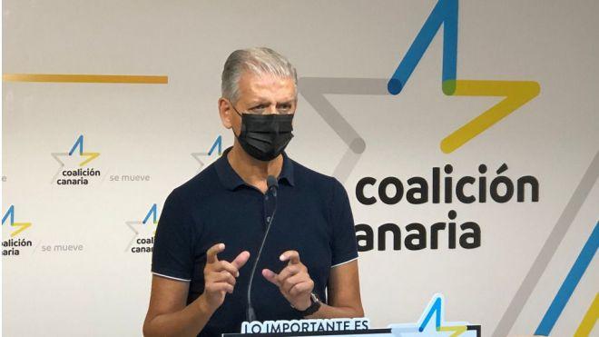 CC de Tenerife rechaza Fonsalía y propone intervenir en Los Cristianos