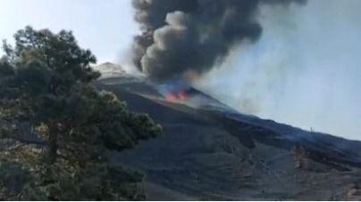 El desplazamiento de las cenizas empeorará la calidad del aire en el sur y oeste de La Palma