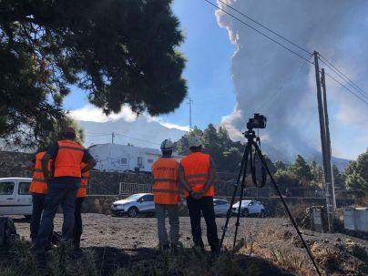 El volcán emite 250.000 toneladas de SO2 y 35 millones de m3 de magma desde que entró en erupción