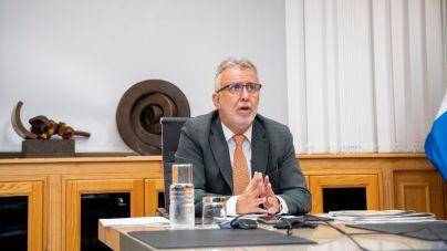 Reunión de la comisión que abordará los daños y la creación de nuevas viviendas e infraestructuras