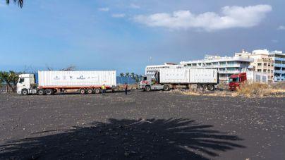 Las desaladoras portátiles llegan a Puerto Naos