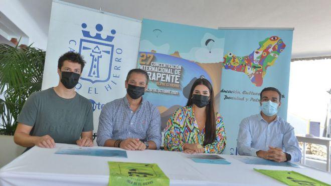 160 deportistas en la Concentración Internacional de Parapente Isla de El Hierro