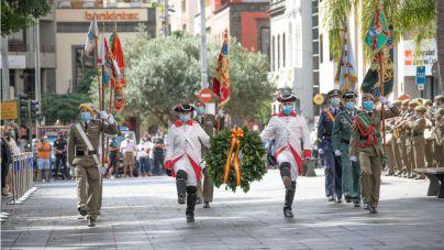 Día de la Fiesta Nacional en Santa Cruz de Tenerife