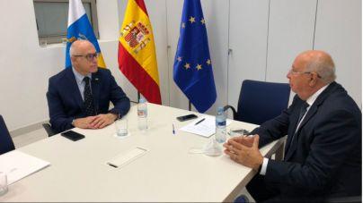 El Gobierno autonómico recibe al nuevo cónsul de Bélgica en Canarias