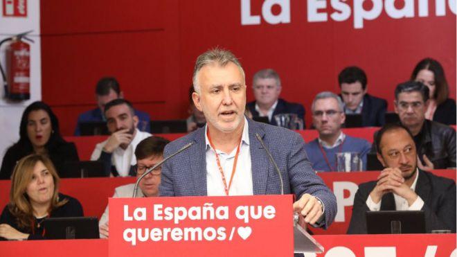 Ángel Víctor Torres encabeza la delegación canaria al 40º Congreso Federal
