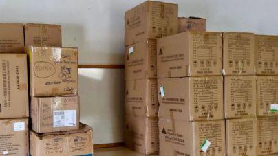 El Área de Salud coordina la distribución de material de protección entre a población