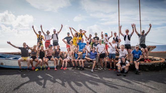 La élite mundial del trail disputará este sábado la gran final de la Golden Trail World Series en El Hierro