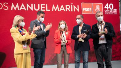 Ángel Víctor Torres recibe el premio Manuel Marín a la gestión autonómica